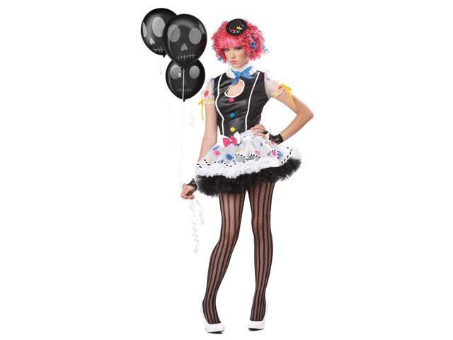 Teen Sassie The Clown Costume