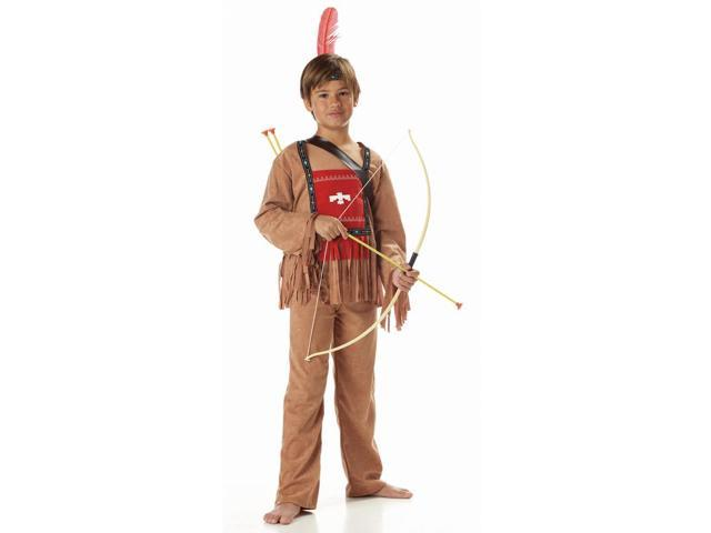 Running Bull Indian Child Costume