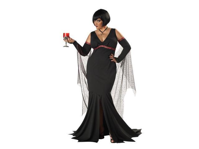 Womens Immortal Seductress Plus Costume