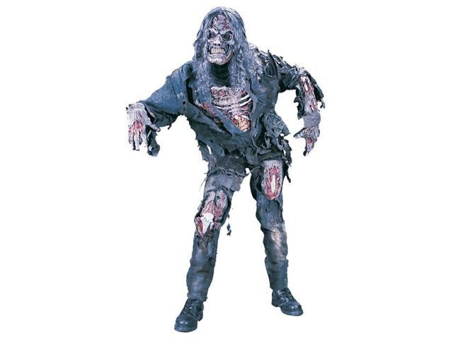 Complete 3-d Zombie Men's Costume