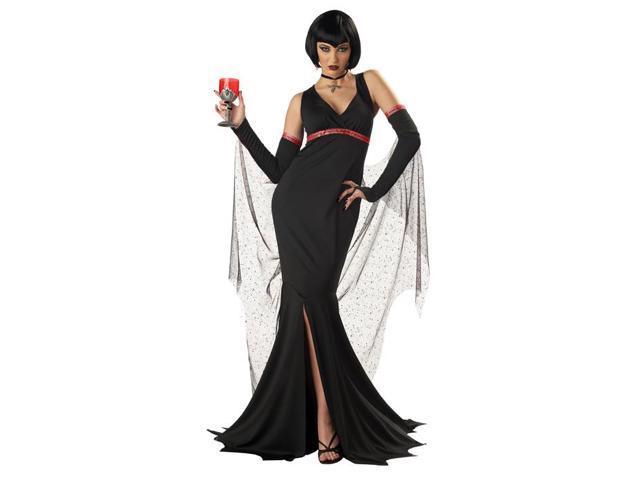 Black Devil Vampire Queen Costume