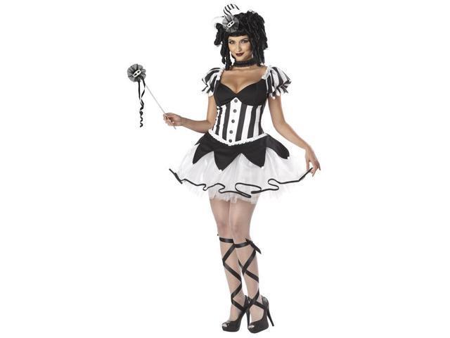 Black Kings Harlequin Jester Costume