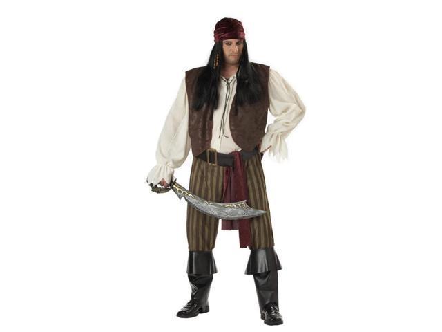 Mens Halloween Costume Rogue Pirate Buccaneer