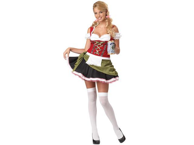 Womens Bavarian Bar Maid Beer Girl Halloween Costume