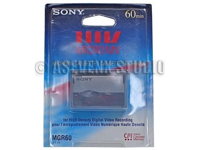 Sony MGR-60 MICROMV Tape