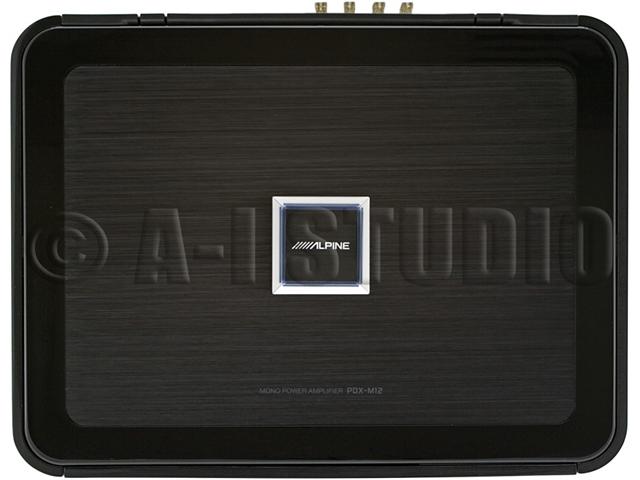 Alpine PDX-M12 Mono Digital Car Amplifier