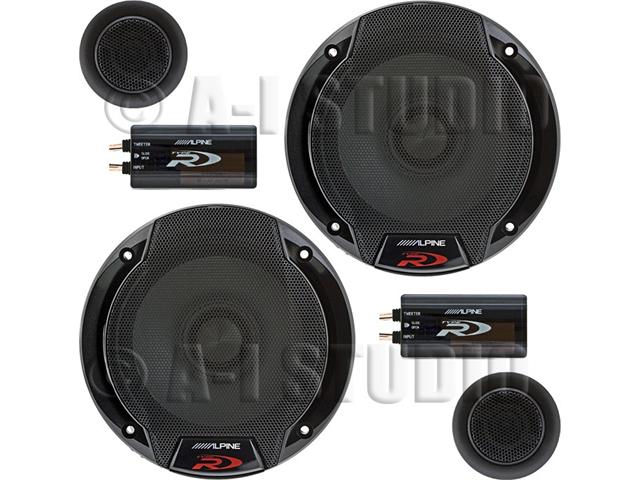 "Alpine SPR-50C 5-¼"" 2-way Car Speaker System"