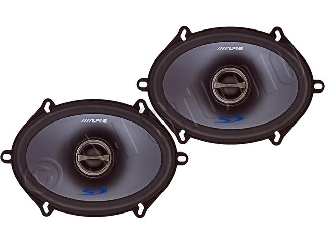 """Alpine SPS-517 5""""x7"""" 2-Way Car Speakers"""