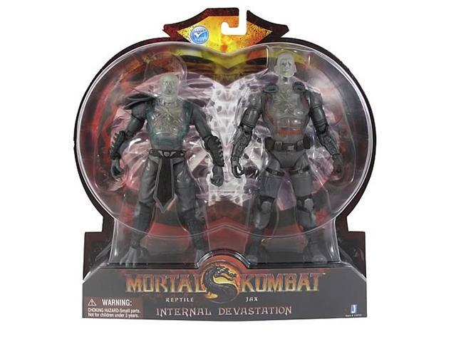 Mortal Kombat X-Ray Pack Reptile and Jax Action Figures