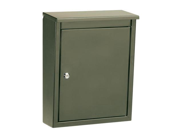 Architectural Mailboxes 2480Z Soho - Powder Coated Wall Mounted Mailbox - Bronze