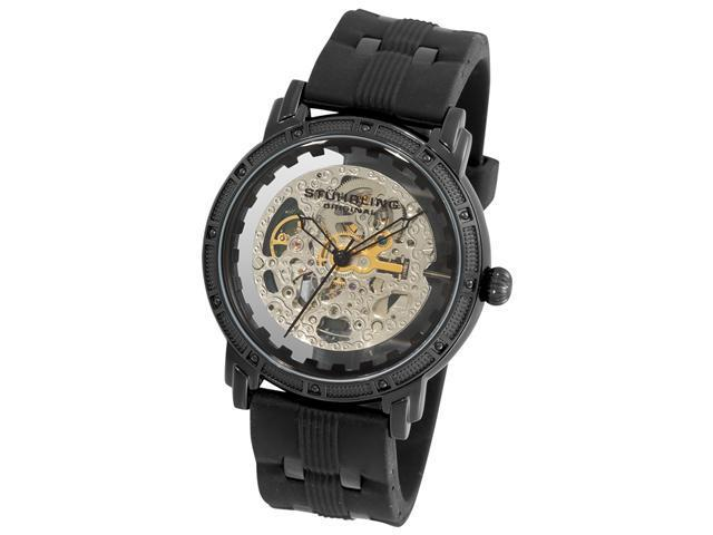 Stuhrling Original Men's Winchester Cavalier Automatic Skeleton Watch 165C.33562