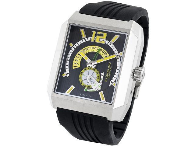 Stuhrling Original Men's Metropolis Automatic Day-Date Watch 284.331665