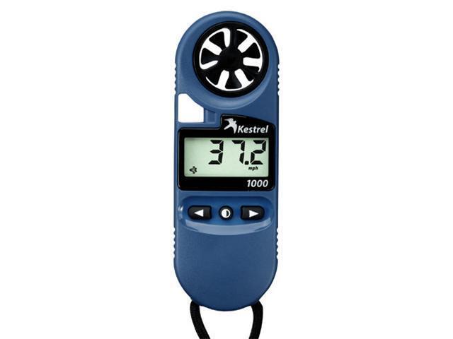 Kestrel 1000 Pocket Wind Meter, Color: Blue - OEM