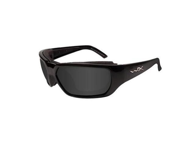 Wiley X Rout Smoke Grey/Gloss Black Glasses
