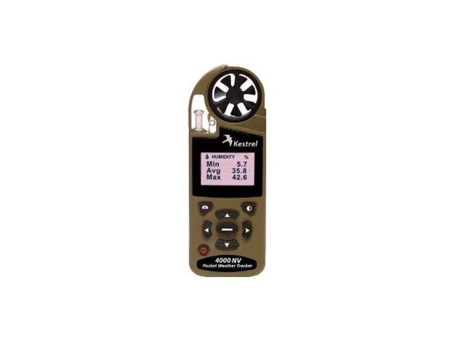 Kestrel 4000NV Pocket Weather Tracker with Bluetooth Desert Tan