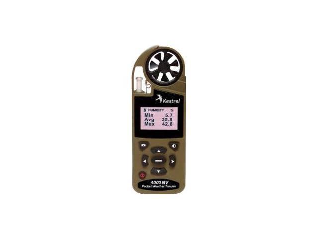 Kestrel 4000NV Pocket Weather Tracker Desert Tan