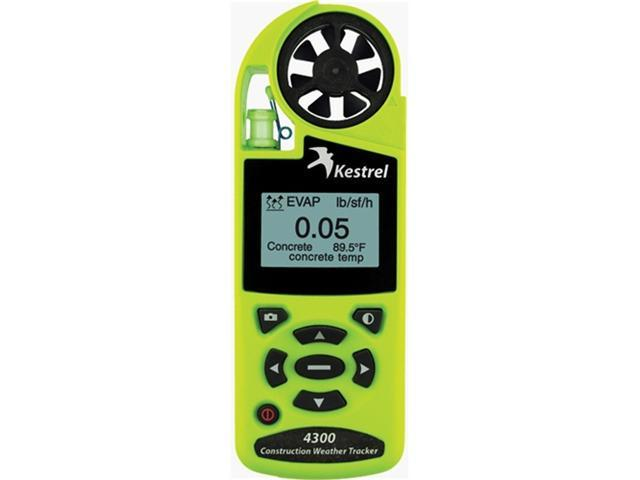 Kestrel 4300 Construction Weather Tracker Safety Green