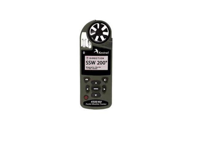 Kestrel 4500NV Pocket Weather Tracker with Bluetooth Olive Drab