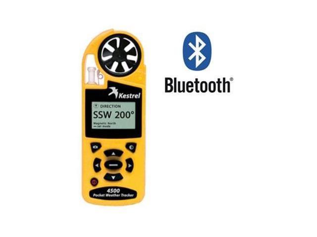 Kestrel 4500 Pocket Weather Tracker with Bluetooth Yellow