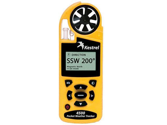 Kestrel 4500 Pocket Weather Tracker Yellow
