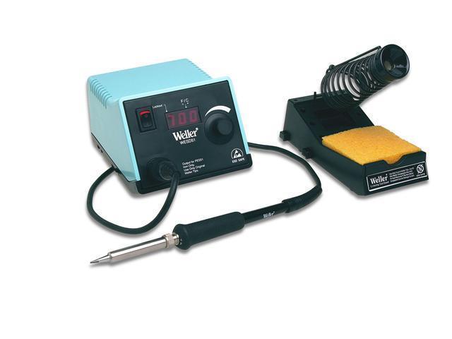 Digital Soldering Station&#59; Power Unit, Soldering Pencil, Stand, Sponge