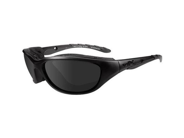 WileyX 694 Airrage Black Ops Collection Sunglasses, Smoke Grey Lens