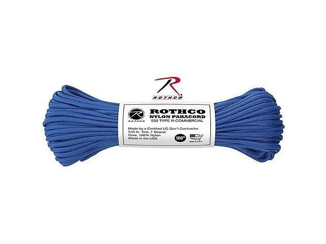 Rothco 148 Royal Blue 100' 550lb III Commercial Paracord