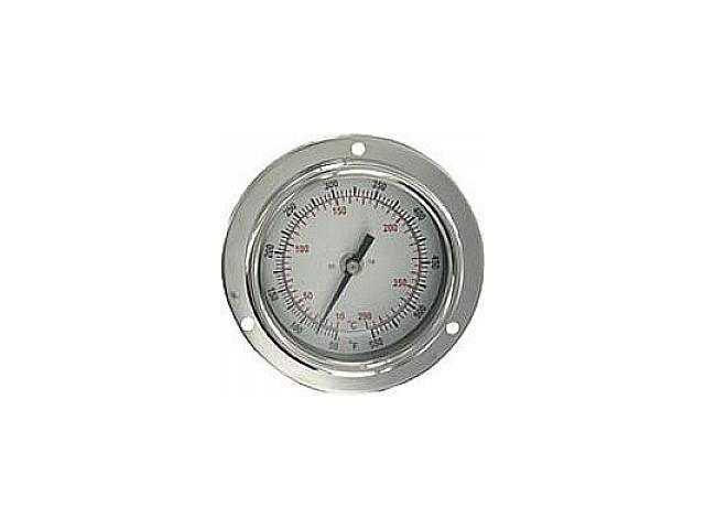 Bimetal Thermom, 2-1/2 In Dial, 0to200F