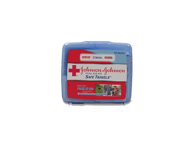 8274 Johnson & Johnson Safe Travels First Aid Kit