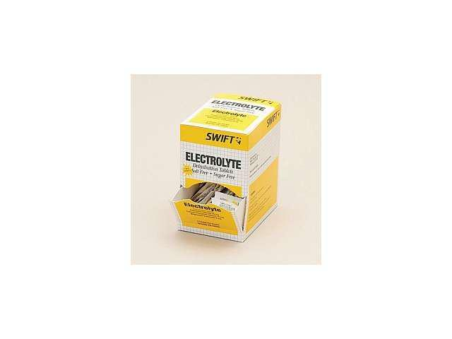 North Swift Electrolyte Dehydration Relief Tablets 250 (2 Per pack, 125 packs).