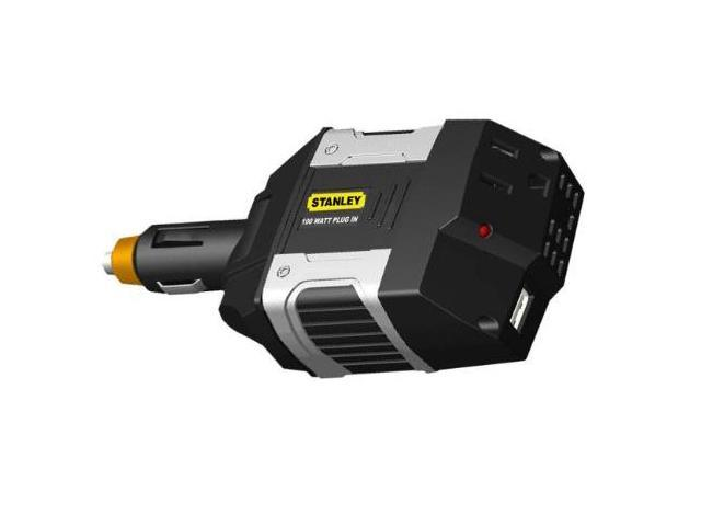 Stanley PC1A09 100 Watt Power Inverter with USB Power Outlet