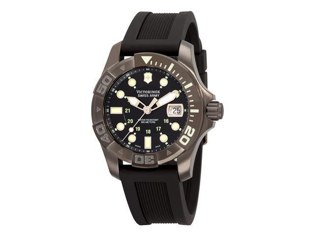 Victorinox Swiss Army Dive Master 500 Black Ice Mens Watch 241426