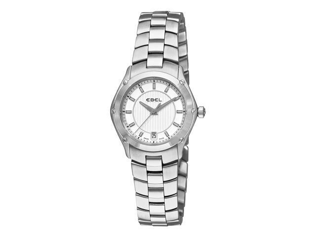 Ebel Classic Sport Ladies Stainless Steel Silver Dial Watch 9953Q21/163450