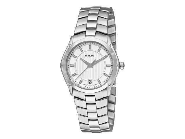 Ebel Classic Sport Grande Ladies Stainless Steel Silver Dial Watch 9954Q31/163450