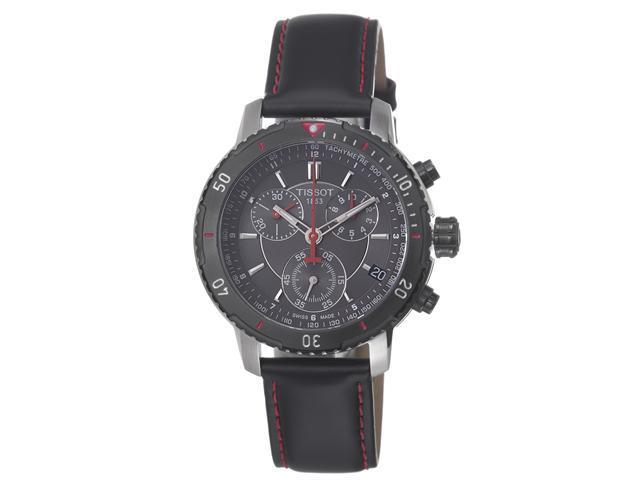 Tissot PRS 200 Chronograph Black Dial Mens Watch T0674172605100