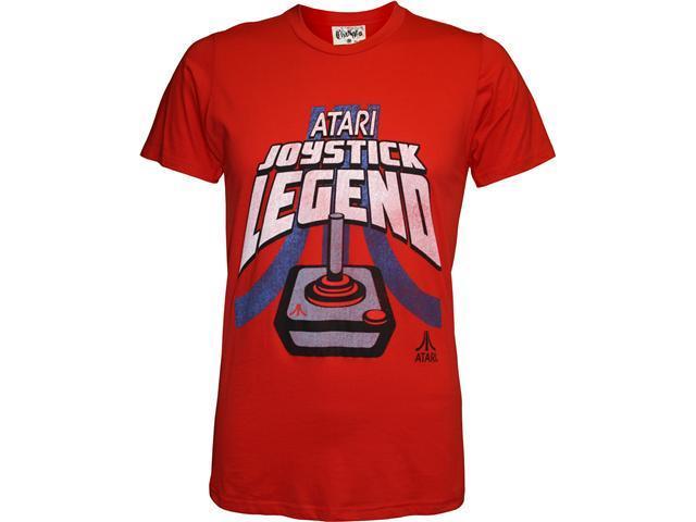 Atari Distressed Joystick Legend Men's Slim Fit T-Shirt