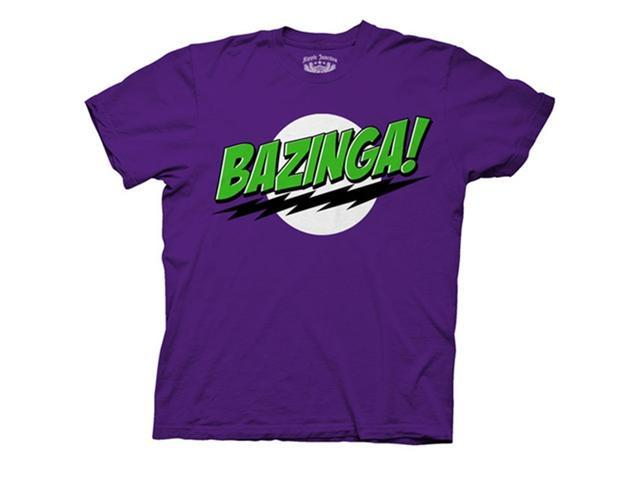 Big Bang Theory Bazinga Men's T-Shirt (Joker Colors)