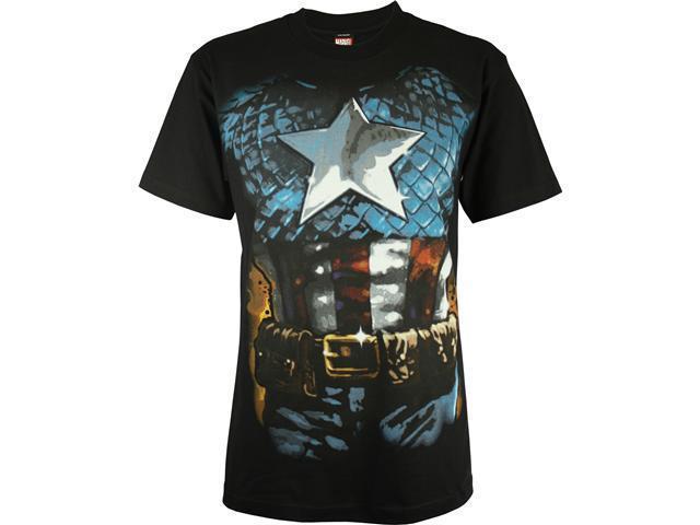 Captain America Men's Costume T-Shirt