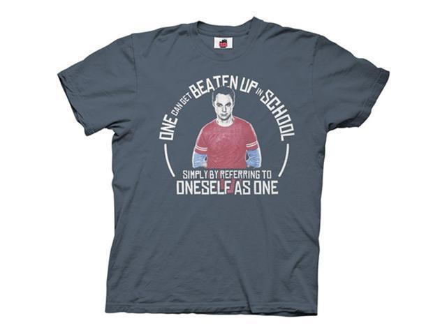 Big Bang Theory Sheldon Beaten Up in School Men's T-Shirt