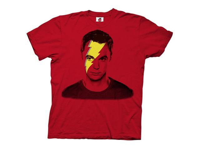 Big Bang Theory Lightning Bolt Sheldon Men's T-Shirt