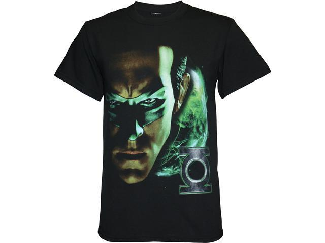 Green Lantern Shadow Portrait Men's T-Shirt