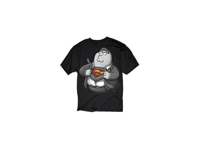 Family Guy DC Comics Spoof Peter as Clark Kent Men's T-Shirt