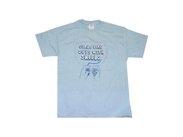 Nintendo Girls Like Guys With Skills Men's T-Shirt
