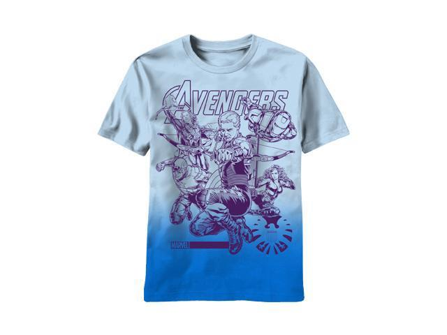 Marvel Avengers Team Up Impakted-M Men's T-Shirt