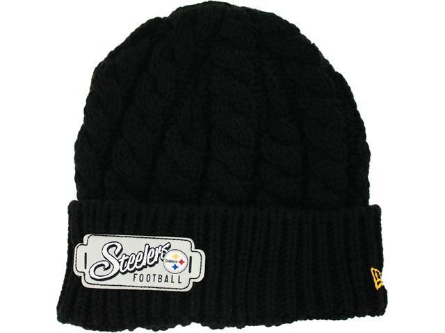Pittsburgh Steelers Women's Winter Weave Knit Cap