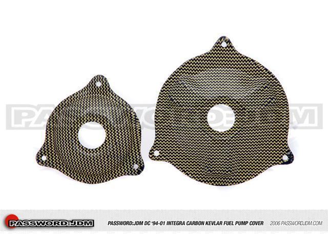 Password:JDM Dry Carbon Kevlar Fuel Pump Cover (DC 94-01 Integra)