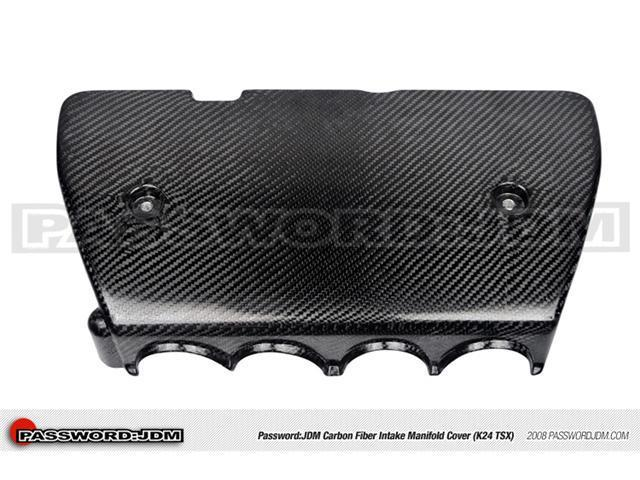Password:JDM Dry Carbon Fiber Intake Manifold Cover (K24 TSX)