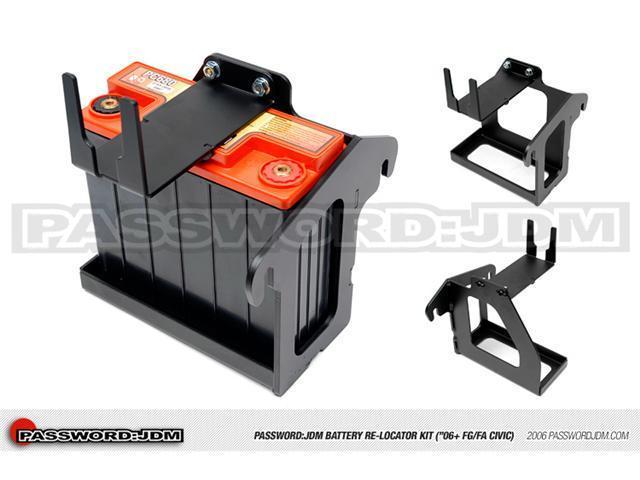 Password:JDM Battery Relocator 06-10 Civic Si