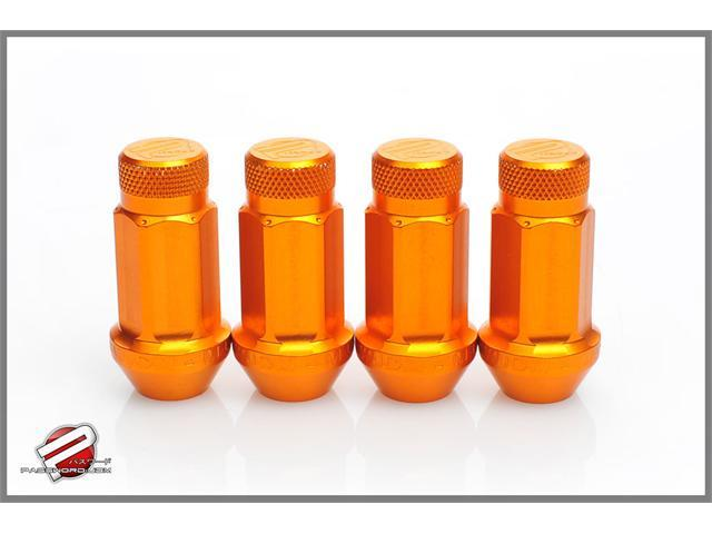 Password:JDM Aluminum Lug Nuts Orange (16 Pack Extended Close End) 12 x 1.5
