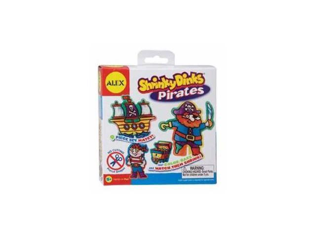 Alex Toys Pirates Shrinky Dink Kits